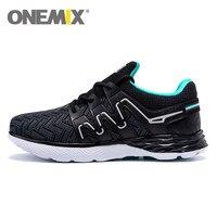 2017 Onemix Men Light Running Shoes Massage Soles Sneakers Atheletic Trainer Outdoor Walking Men Tennis