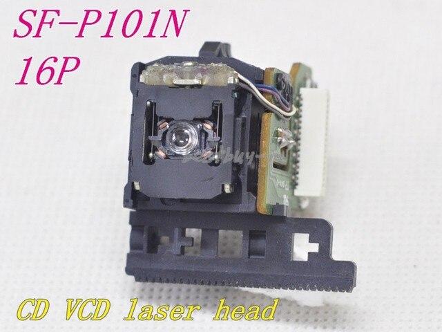 새로운 10pcs SF P101N / SF 101N 16 핀/SF P101 16 핀 광학 픽업 SFP101N/SFP 101N CD/VCD 플레이어 레이저 렌즈 SF P101N 16P