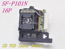 Nowy 10 sztuk SF P101N / SF 101N 16PIN / SF P101 16PIN optyczny przetwornik SFP101N/SFP 101N 16P SF P101N CD/VCD soczewka lasera