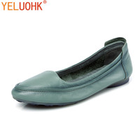 Super Soft Moccasins Women Loafers Genuine Leather Flat Shoes Women Top Quality