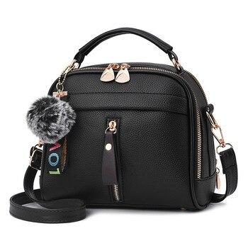 ¡Novedad de 2019! Bolso bandolera para mujer, bolso de hombro, bolso femenino de piel con solapa, bolso de mensajero barato para mujer, Bolsa pequeña femenina