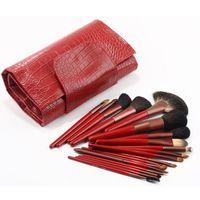 19 stücke Make-Up Pinsel Set Leopard Haar Foundation Kosmetik Pulver Lippenstift Werkzeuge MEHRZWECK Schönheit Pinsel Maquiagem kits