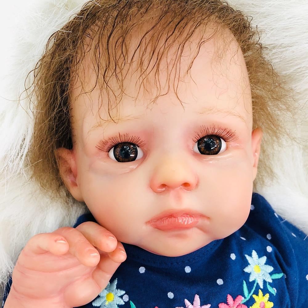 Boutique silicone reborn baby doll 50 centimetri vivid alla ricerca di fatti a mano bambino rinato bambola per il regalo dei bambini giocattoli bebes rinato bonecaBoutique silicone reborn baby doll 50 centimetri vivid alla ricerca di fatti a mano bambino rinato bambola per il regalo dei bambini giocattoli bebes rinato boneca