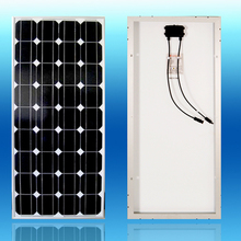 Фотография solar panel 100w 12 v monocrystalline solar cell fotovoltaico off grid solar power system waterproof cheap china solar panel
