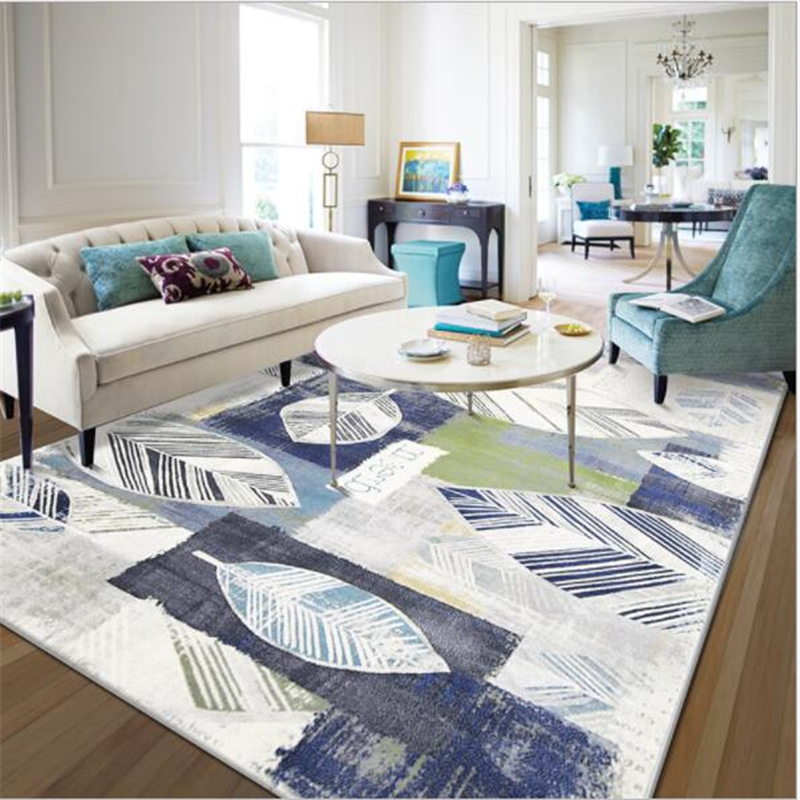 American Style Delicate PP Carpets For Living Room Bedroom Kid Room Rugs Home Carpet Floor Door Mat New Hot Sale Large Area Rug