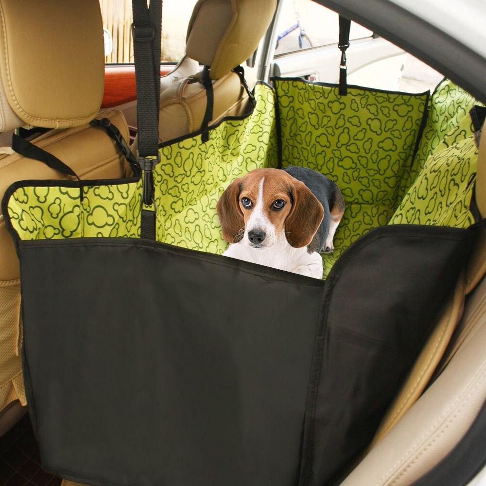 Pet Dog Cat Car Rear Back Seat Carrier