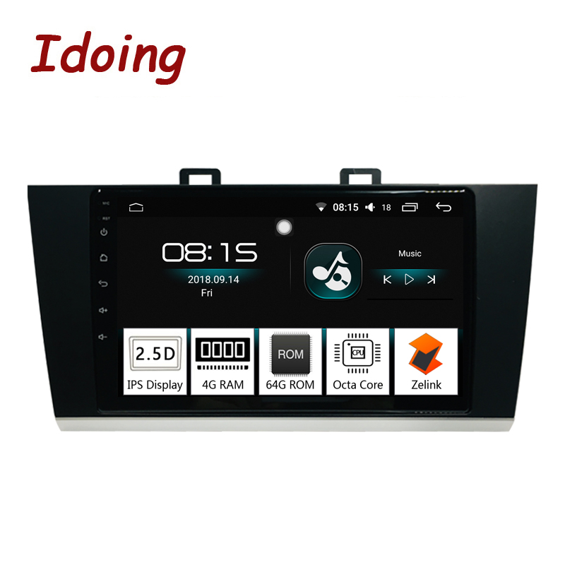 Idoing 1Din 9Car Radio vedio GPS Multimedia Player Android 8.0 For Subaru Outback Legacy 2015-2018 4G+64G Octa Core NavigationIdoing 1Din 9Car Radio vedio GPS Multimedia Player Android 8.0 For Subaru Outback Legacy 2015-2018 4G+64G Octa Core Navigation