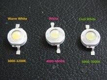Freeshipping High optical efficien 45MIL 3W High Power LED Light Beads 1LA5 700mA Light Source CE RoHS LED Diode 10Pcs