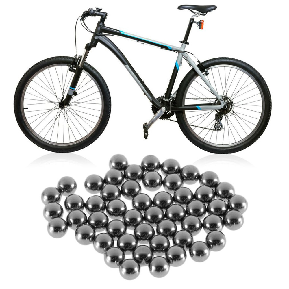 50PCS/Pack Durable Bicycle Stainless Steel Ball Replacement Parts 4mm 5mm 6mm 8mm 9mm 10mm Bike Bicycle Steel Ball Bearing repair parts replacement stainless steel screws pack for iphone 4 40 piece pack
