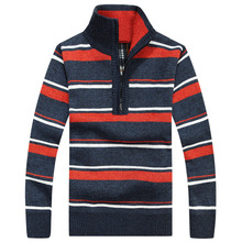 Brand Design font b Sweater b font font b Men b font Striped Pullover Pull Homme