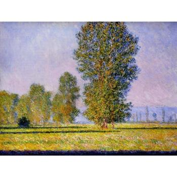 Claude Monet paintings on Canvas Landscape with figures giverny hand-painted wall art decor High quality