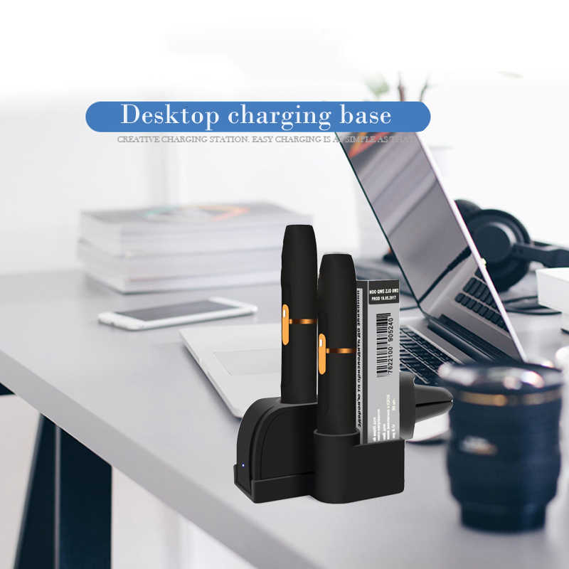 Desktop Charger For iqos Multifunctional Portable Pocket Charging Stand  With USB Cable for Car Vent Holder Home Travel