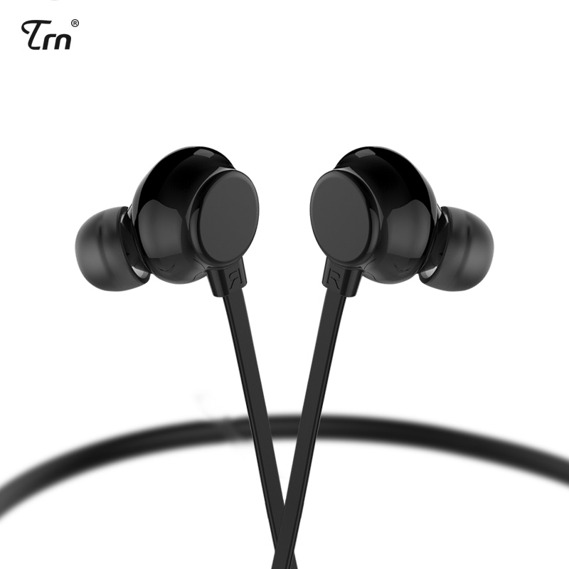 TRN AS10 Diaphragm Dynamic Drivers In Ear Earphone Running Sport Bluetooth Wireless Earplug Earbud TRN V20/V80