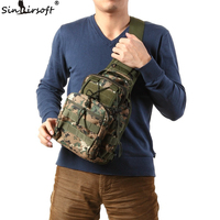 Outdoor 3P Utility Military Tactical Duffle Waist Bags Hiking Messenger Canvas Chest Pack Tactical Molle Assault