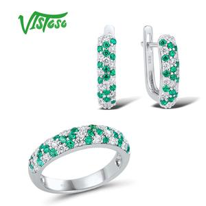 VISTOSO Jewelry Sets For Woman
