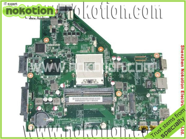 NOKOTION laptop motherboard for Acer 4339 DA0ZQHMB6C0 INTEL HM55 GMA HD DDR3 Mainboard Full Tested nokotion laptop motherboard for acer 5742 nv55c la 6582p intel hm55 integrated gma hd ddr3 mainboard