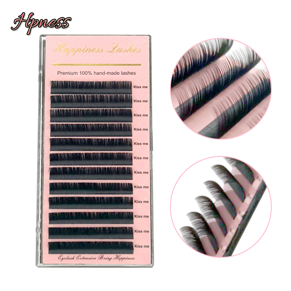 581a047ed00 Eyelash Extension Premium Soft False Mink Lashes Individual Eye Lashes  0.03-0.15 C D D+ 8-15 mm All Sizes