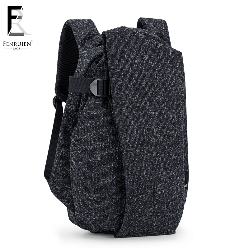 FRN Fashion USB Charging Men Casual Travel Backpack For Teenager Multifunction 15 inch Laptop Backpack Mochila Male Bag frn new high capacity casual backpack men usb charging business laptop backpack male mochila fashion travel backpack bag