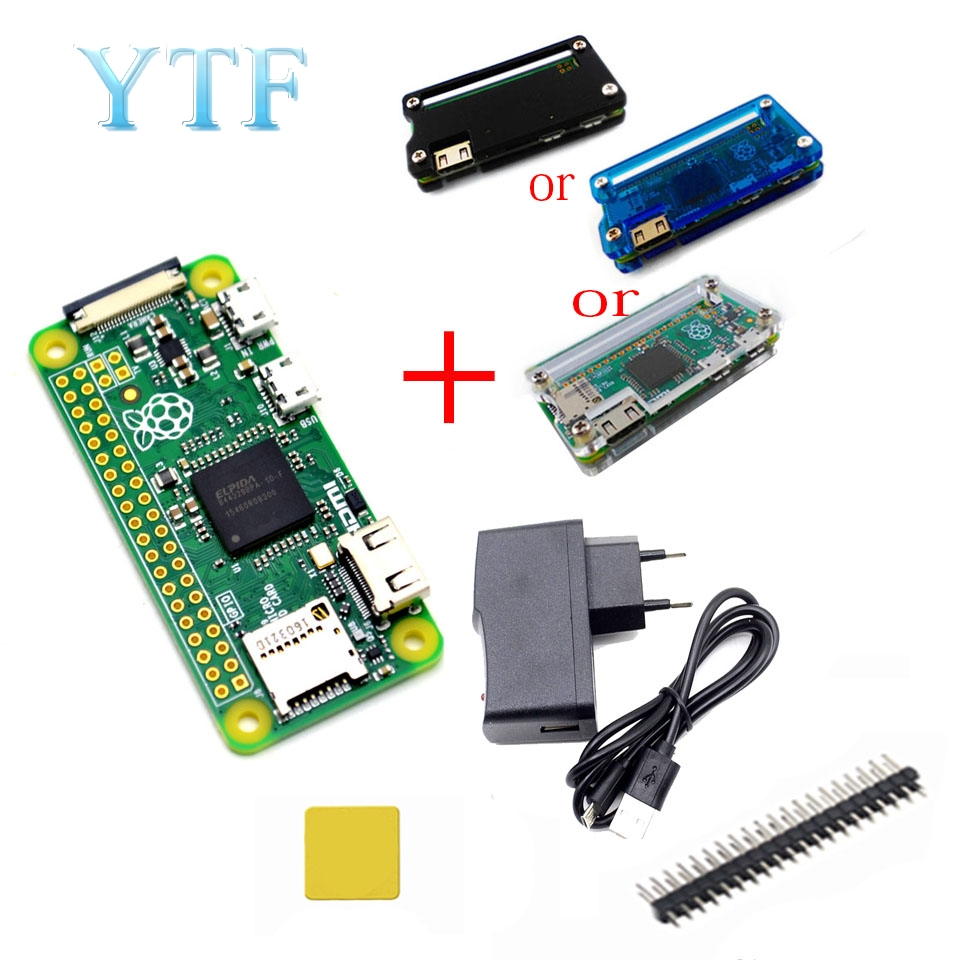 Raspberry Pi Raspberry pi zero WH 0 W Adaptador Raspberry Pi pi 0 1.3 versão Shell Kit