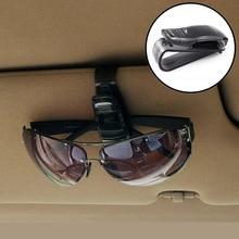 """ABS автомобильные очки солнцезащитные очки с клипсой автомобильные аксессуары наклейки для Toyota alphard """"lundra"""" PRADO 4runner Avensis Aygo REIZ аксессуары"""