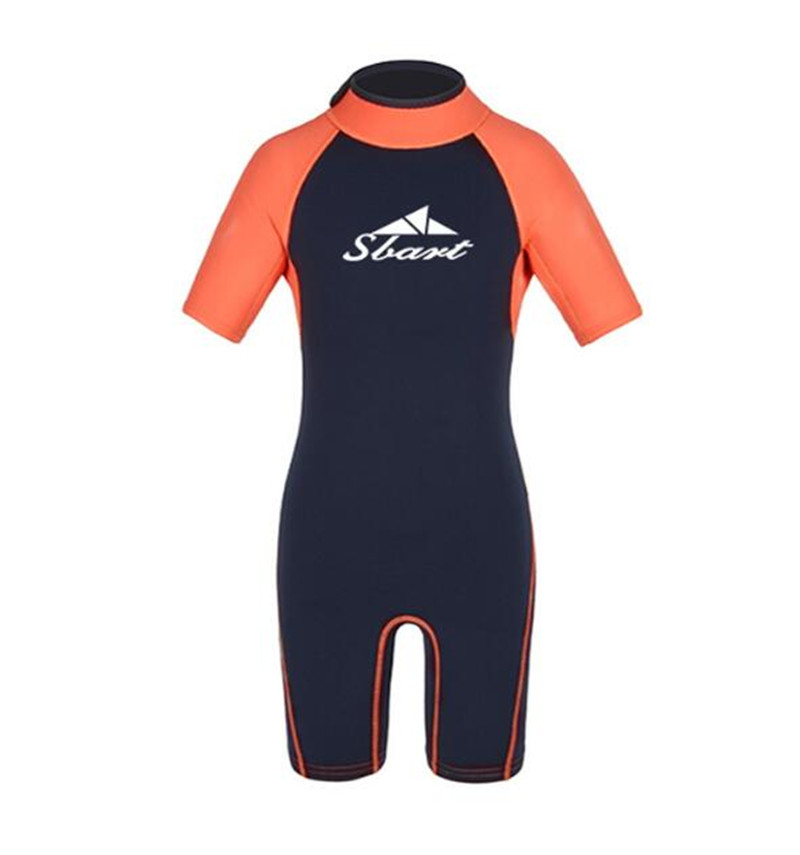 SBART 2MM Kids Boys Girls Neoprene Diving Wetsuits For Swimming Sunscreen Warm Snorkeling Surfing Scuba Dive Wet Suit in Wetsuit from Sports Entertainment