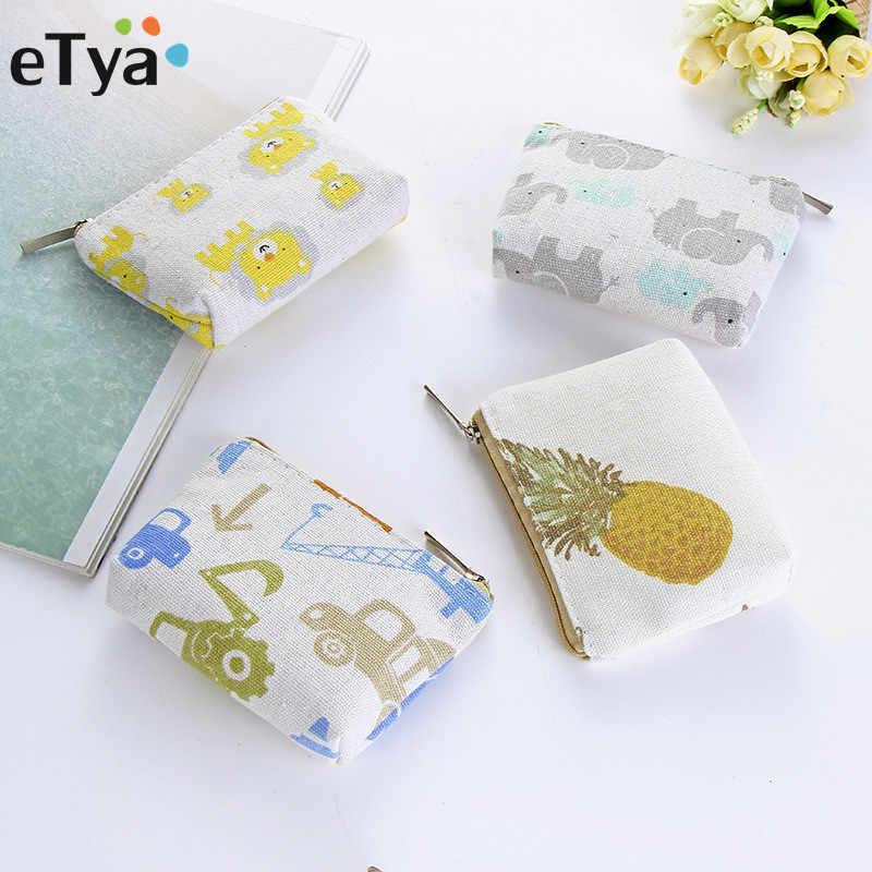81f27717feec Detail Feedback Questions about eTya Coin Bag Canvas Women Female ...
