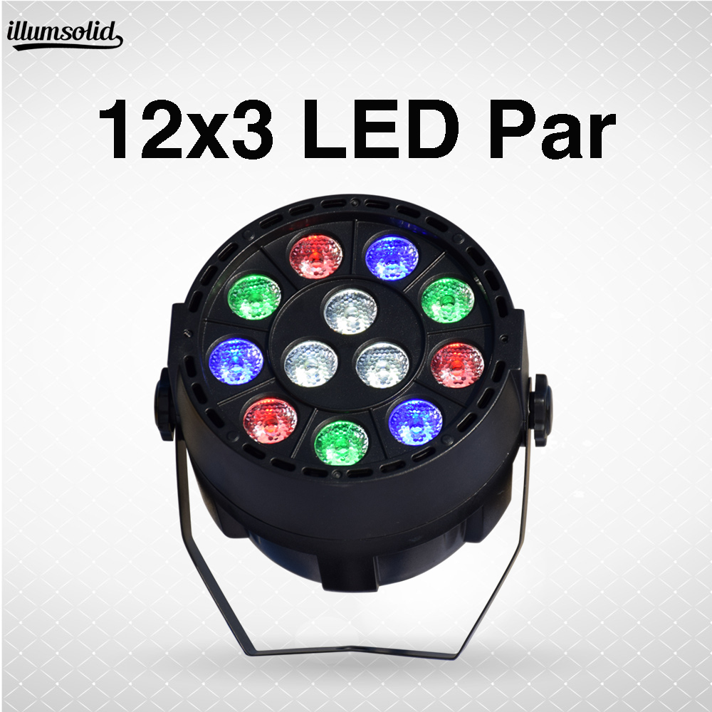 LED Par 12x3W RGBW 4 colors for disco DJ projector machine Party Decoration Stage LightingLED Par 12x3W RGBW 4 colors for disco DJ projector machine Party Decoration Stage Lighting
