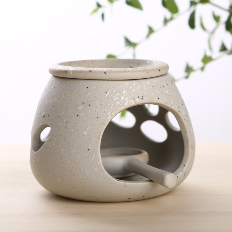 Fashion Crude Pottery Candle Aromatherapy Furnace Incense Base Essential Oil Burner Aromatherapy Favor DEC158
