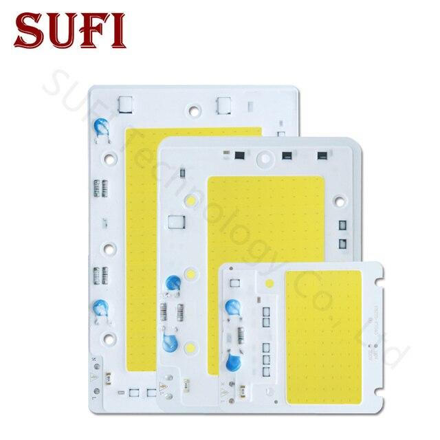 LED COB Chip 50W 100W 150W LED Lamp Bulb AC220V 110V Light Chips Smart IC Warm White For DIY 50 100 150 W Spotlight Floodlight