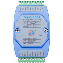 DAM6304 Mixed Analog Digital Input Data Acquisition Module Modbus Voltage Current Converter