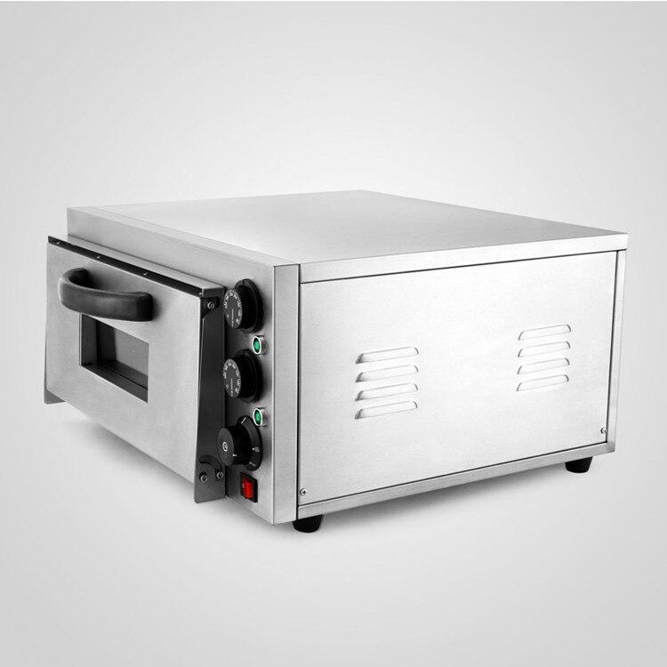 Duplo Rotary Maçanetas Modern Design Forno de Pizza Deck Single 2kW Cozimento Elétrica Comercial - 3