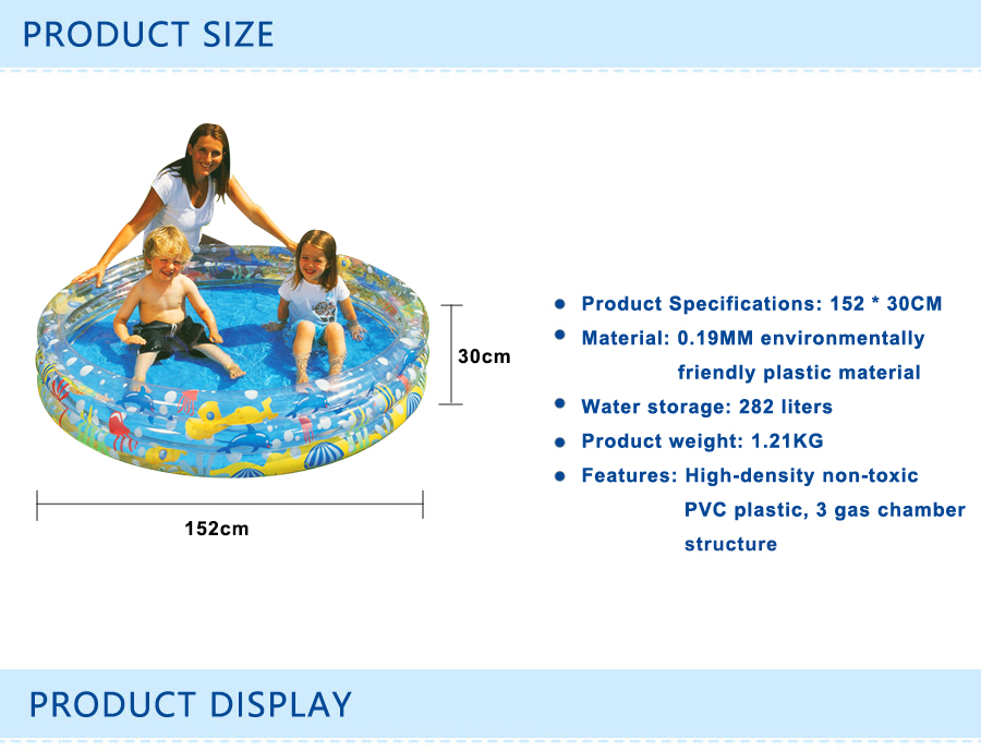 plastic PVC Cartoon pattern Inflatable round bathtub outdoor Thickening  child Inflatable Ball pool baby swimming pool Play pool