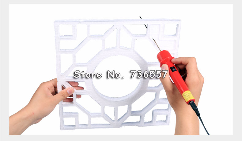 1Pc 10CM Craft Hot Knife Styrofoam Cutter Pen CUTS FOAM, KT Board Cutting +All Copper Electronic Voltage Transformer Adaptor