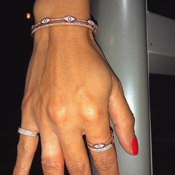48f958e593f4 1 ppiezas pulseras de Tornillo de acero de titanio para Mujeres Hombres  plata oro rosa oro amante brazaletes pulsera pareja joyería con caja  conjunto