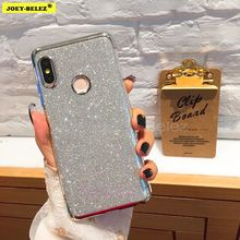 Glitter Bling Silicone Case for Xiaomi Pocophone F1 Mi 8 SE 5X 6X A1 A2 5X Mi 2s Plating case Redmi Note 6 4X 5 6 Pro 5 A 5 Plus(China)