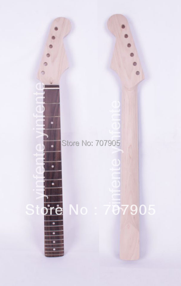 New   Electric guitar neck Rosewood Fretboard Truss Rod 22 fret 25.5 Unfinished Free shipping 1pcs electric guitar neck 24 fret mahogany rose fretboard truss rod new 887