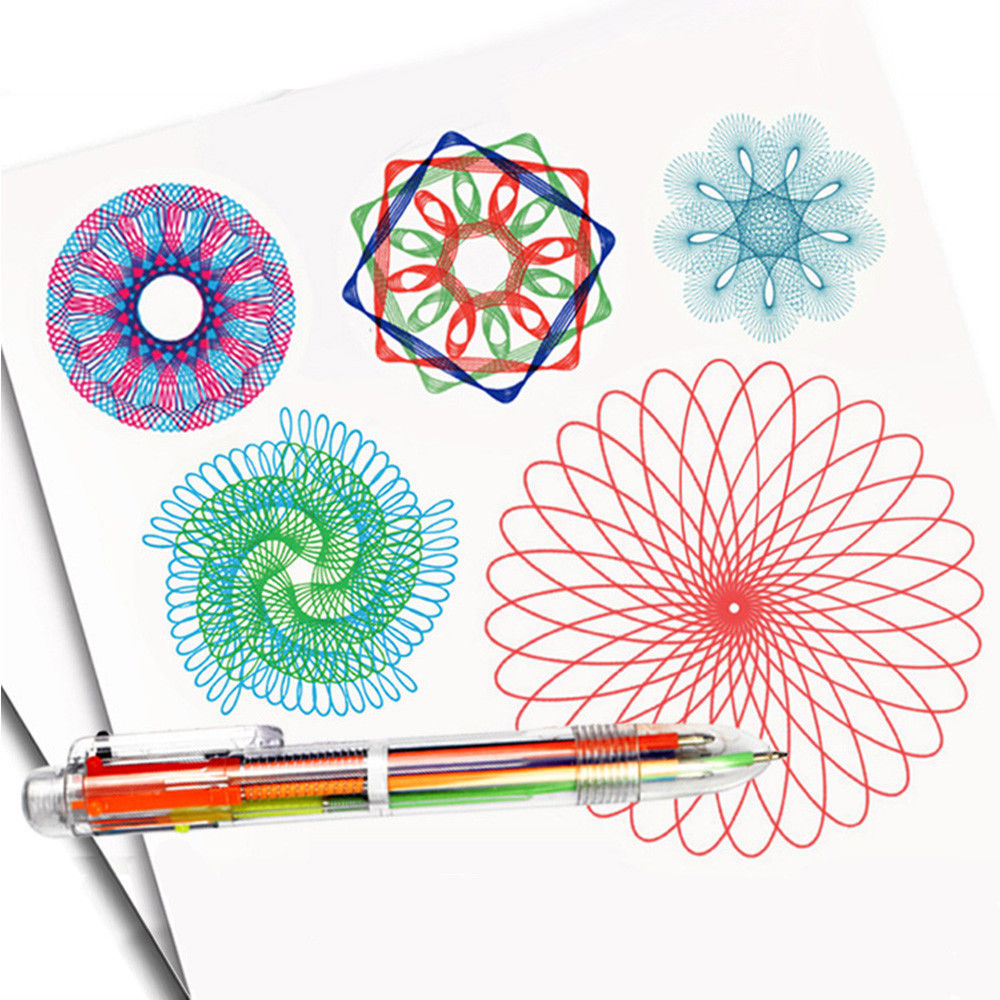 Gentle 32pcs/set Spirograph Geometric Ruler Learning Animal Drafting Tools Stationery For Students Kids Drawing Toys Gifts To Assure Years Of Trouble-Free Service Learning & Education Drawing Toys