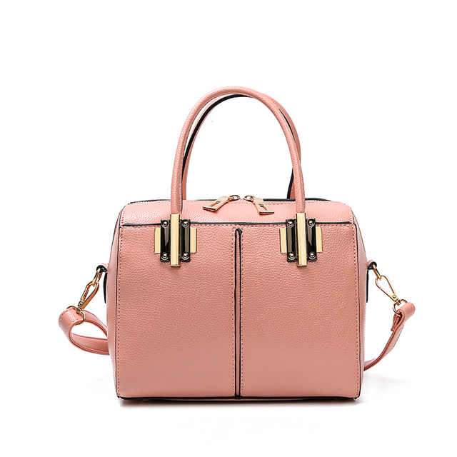 Fashion Women Handbags 2017 Female Top-handle Bag Designer PU Leather Lady Shoulder Bag Female Tote Sequined Zipper Bolsos