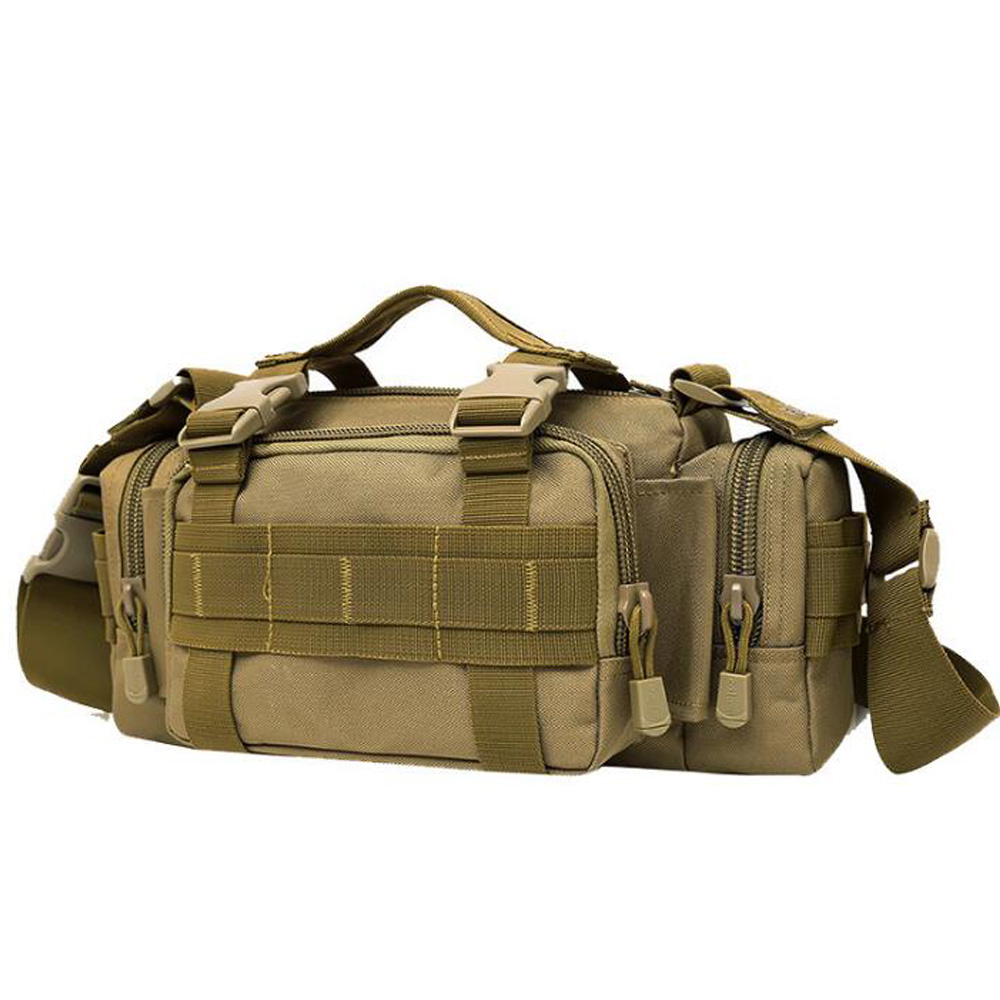New Arrive Vintage Men Canvas Cloth Waist Packs Bags Utility 3p Military Duffle Waist Bags Molle Assault Tote Bag mens canvas bags waterproof molle backpack military 3p school trekking ripstop woodland gear men assault cordura bag packsack