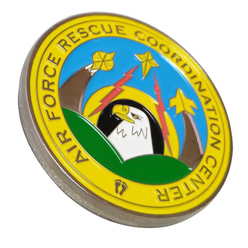 Souvenir Challenge Coin with Soft Enamel in Non currency Coins from Home Garden