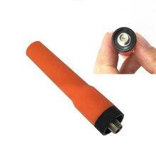 SF20 Orange doux UV double Section antenne de SMA F pour baofeng uv 5r 888 h777 puxing woxun radios