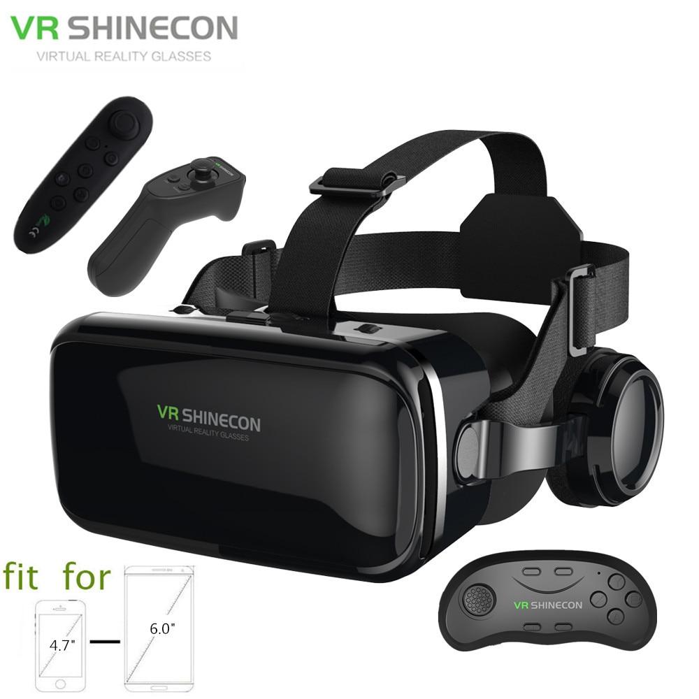 BOBOVR Z4 3D VR Virtual Reality Earphone Game Movie Glasses Remote Controller