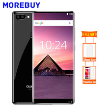 Oukitel MIX 2 6 GB RAM 64 GB ROM Mobile Téléphone Android 7.0 MTK6757 Helio P25 Octa base Smartphone Double Caméra D'empreintes Digitales FHD 18:9