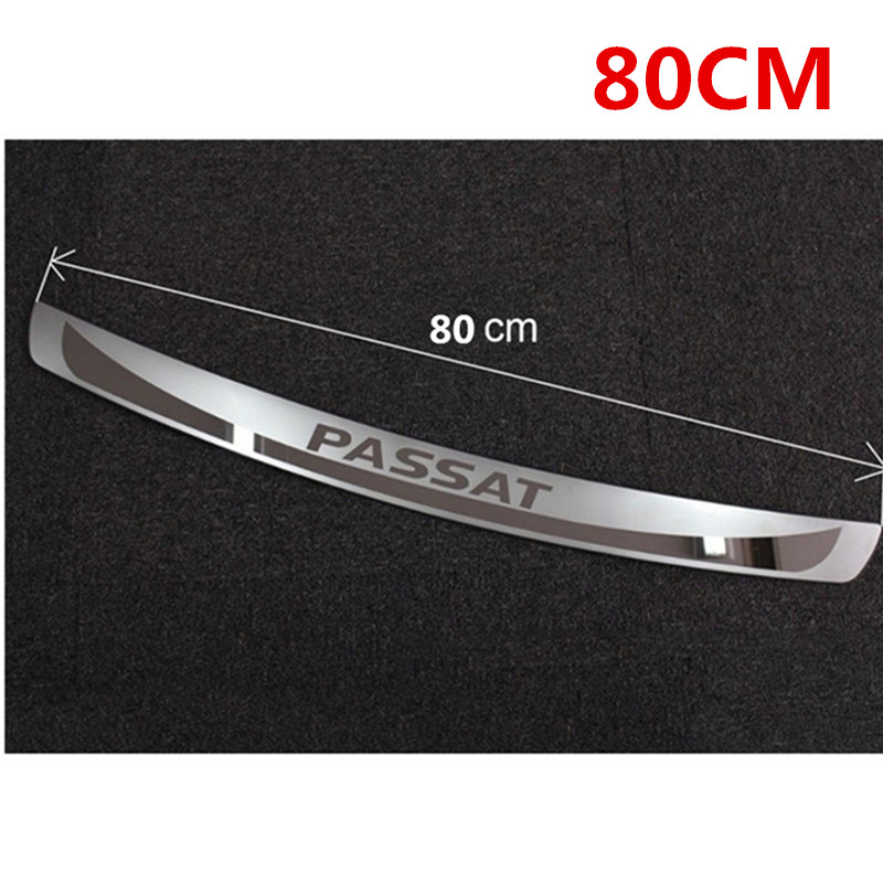 Outer Trunk Bumper Stainless Steel Protector Sill Plate for Mazda 6 Sedan 2011