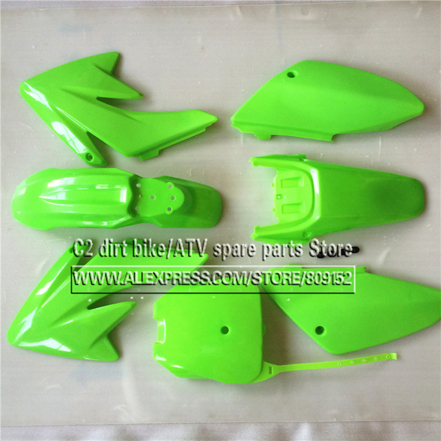 CRF 70 プラスチックカバーフェアリングキット CRF70 ダートピットバイク Procket バイク Xmotos バハ DR50 49 50cc 70 90 110 kayo hk 160