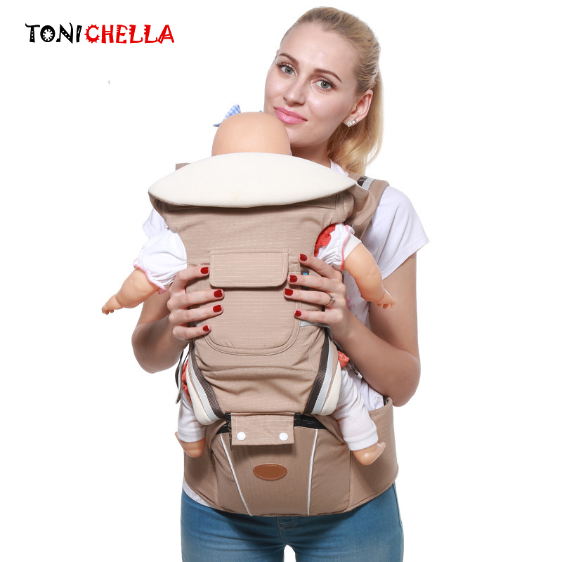 Fast Deliver Baby Carrier Ergonomic Backpack Infant Sling Double Shoulders Newborn Prevent O-type Legs Adjustable Kangaroos Hip Seat Cl5371 Professional Design Activity & Gear Mother & Kids