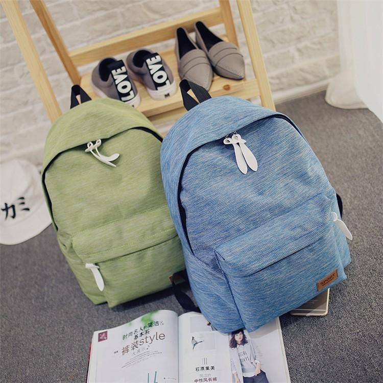 86a8f38f681f Women Canvas Backpacks Ladies Shoulder School Bag For Teenagers Girls  Travel Fashion Sports Bags Bolsas Mochilas Sac A Dos. Size  33cm 39cm 14cm  (Length  ...