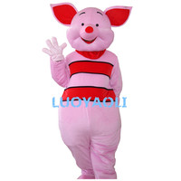 Hot Sale Piglet Pig Mascot Costume Piglet Mascot Costume Pink Pig Mascot Costume Pig Fancy Dress Free Shipping