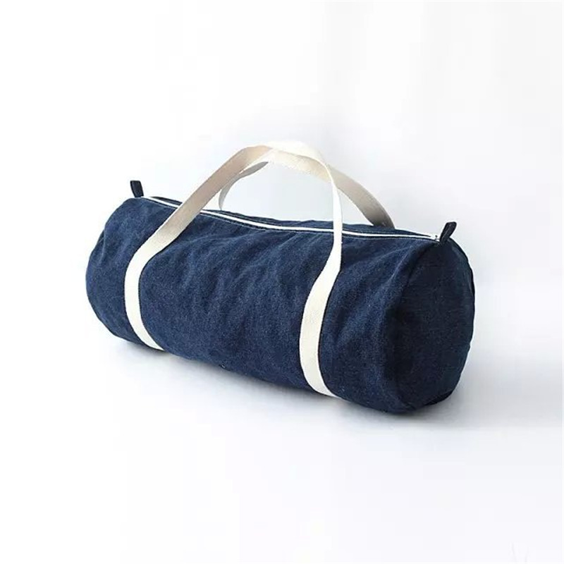YUPINXUAN Solid Washed Denim Zipper Weekender Travel Bag Unisex For Mens and Womens travel bags online shopping