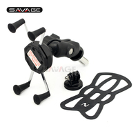 X Grip Phone Holder For YAMAHA YZF R6 YZFR6 2005 Motorcycle Accessories GPS Navigation Bracket 15mm YZF R6